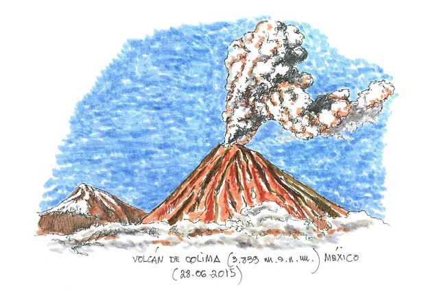 México. Volcán Colima (3.839 m.s.n.m.)