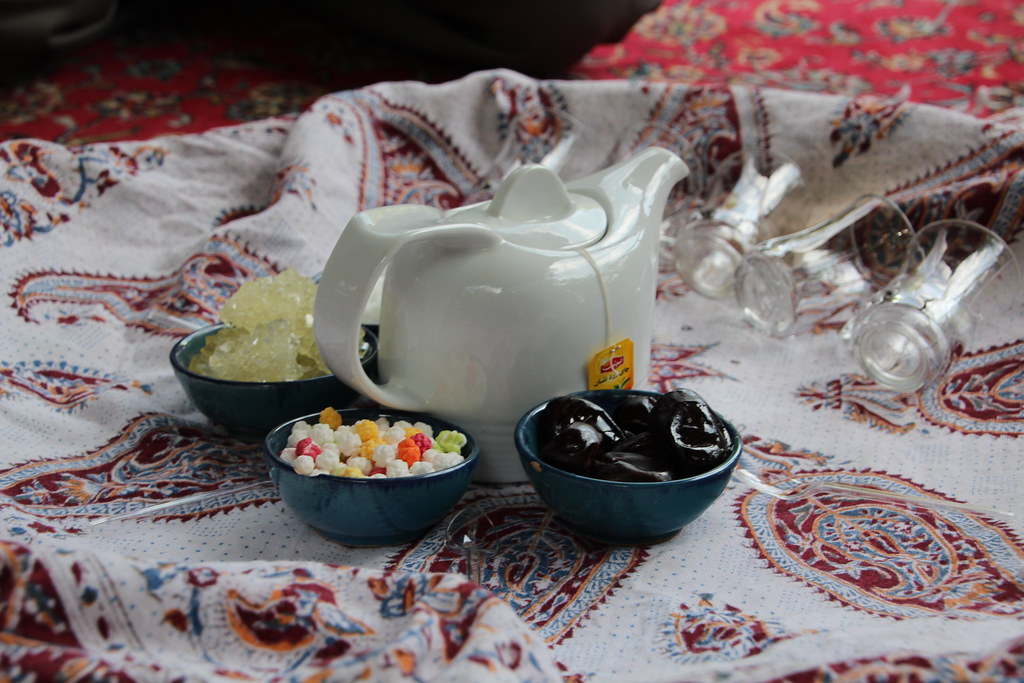 Tea and Candies