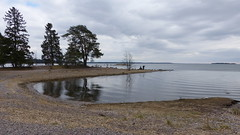 A seashore view from the western tip of Ruissalo (Turku, 20150418)