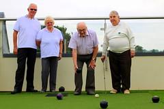 Roof top bowling challenge! Magdalen Park Nursing Home.