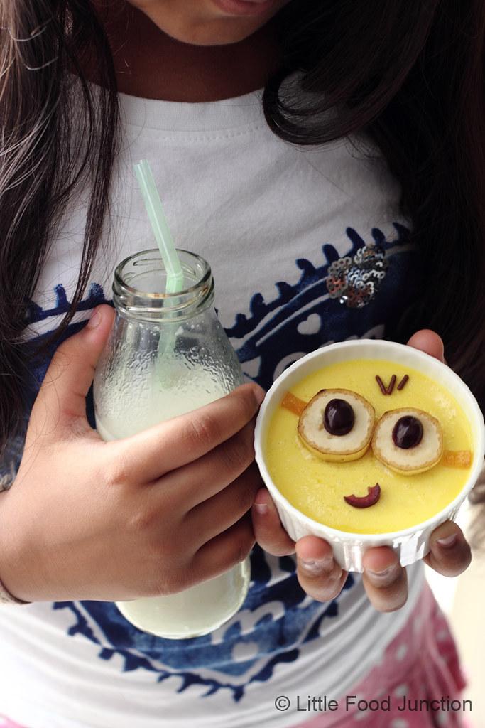 Minions yogurt