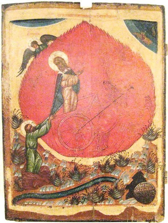 urcarea la cer a Sfantului Ilie