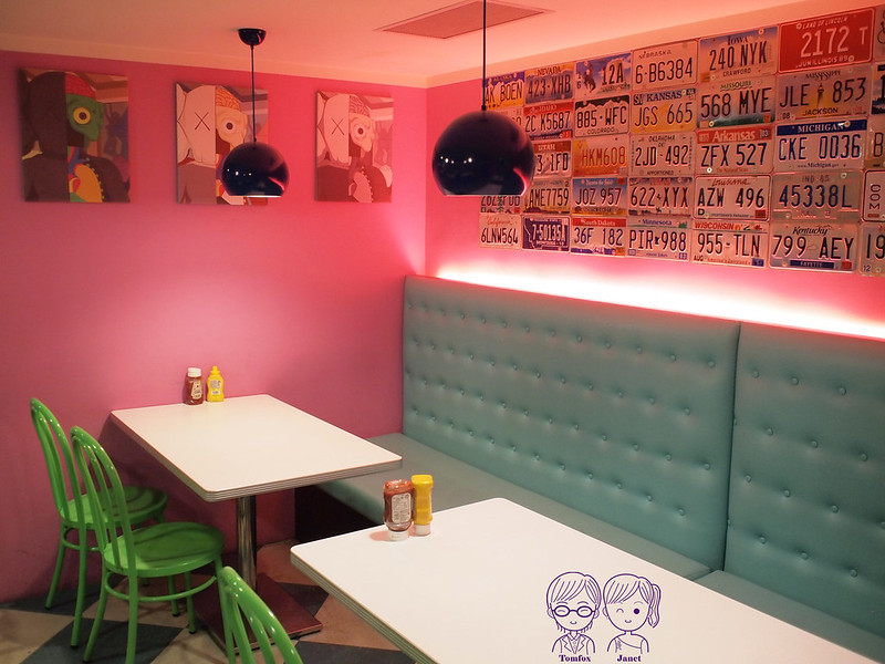 12 Fantasy Diner 潮流美式餐廳