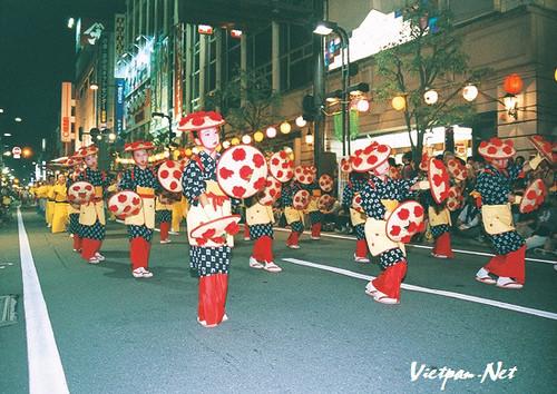 yamagata-hanagasa-matsuri