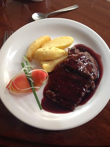 Great Set Menu lunch at Club Social.  Tarija, Bolivia.