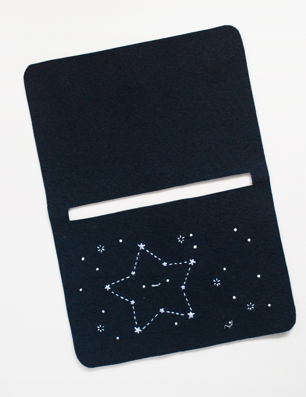 DIY Stargazing Zip Pouch