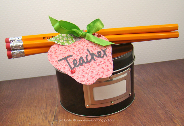Jen Carter Simple Teacher Pencil Gift 2