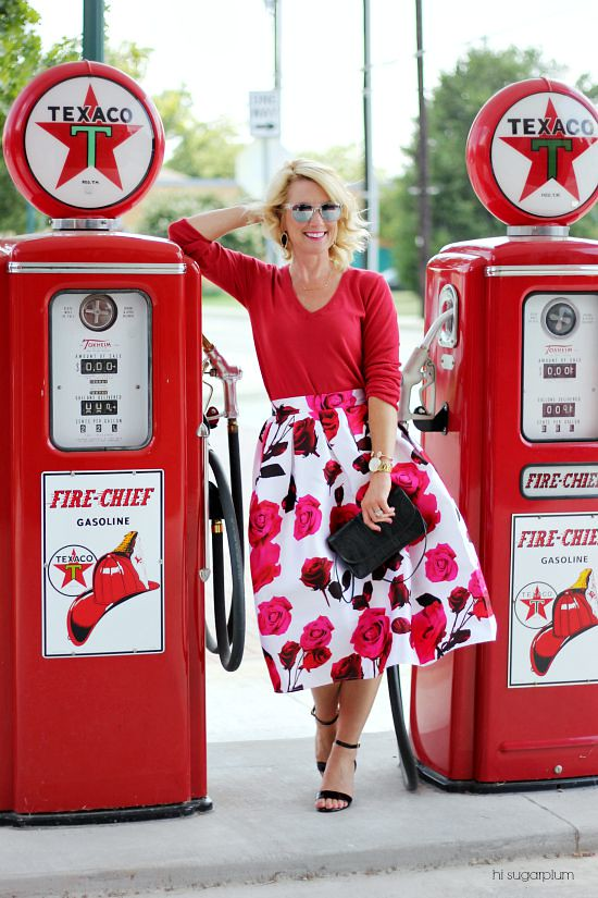 Hi Sugarplum | One Skirt Five Ways