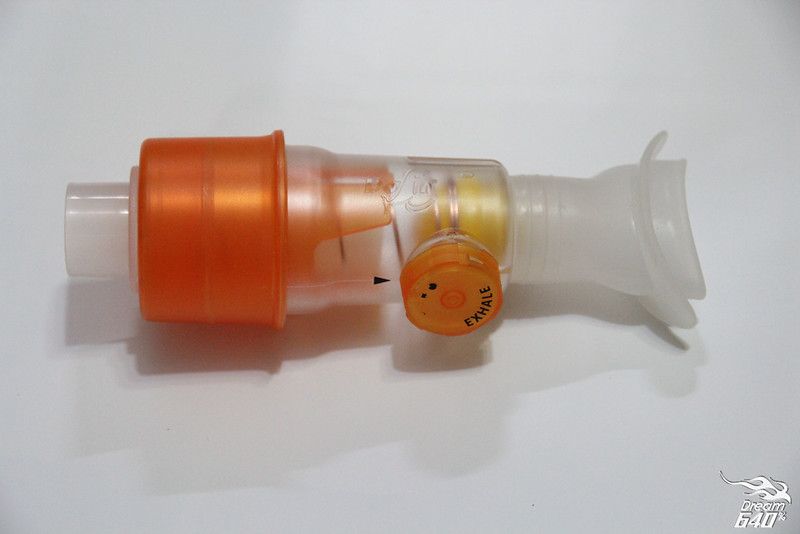 健氣家BRAVO舒呼樂呼吸力訓練器7