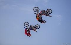 Финал международной мотофристайл-битвы в Москве в рамках шоу Adrenaline FMX Riders!