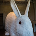 Great Stuffed Rabbit, 2006 - exposition « Chasseur sachant chasser » (Bois, mousse, peaux de lapin véritables)