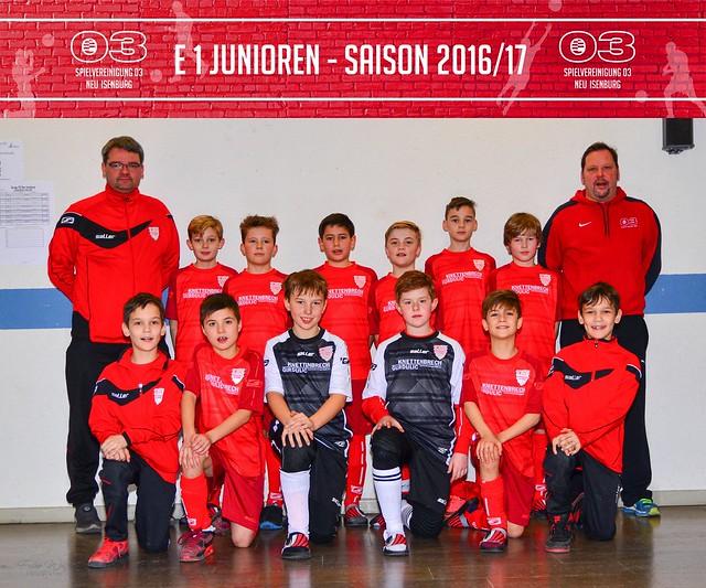 E 1 Junioren Saison 2016/17