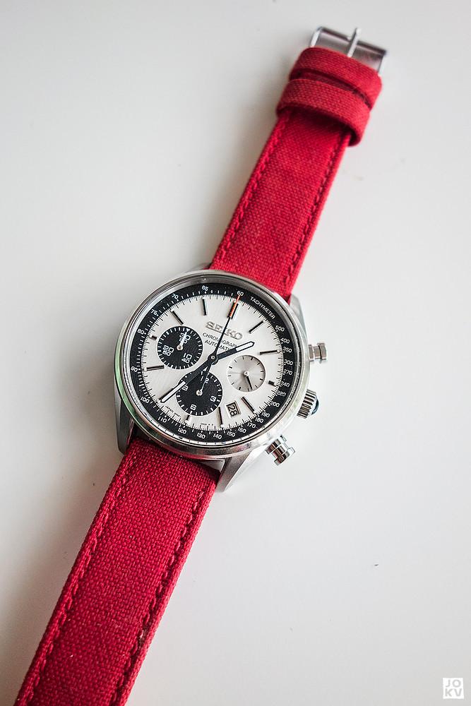 [Revue] Seiko Automatic Chronograph SDGZ013 - Panda 18736976820_0bf252f390_b