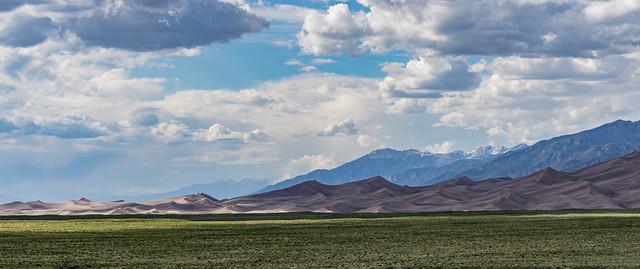 Great Sand Dunes Pano