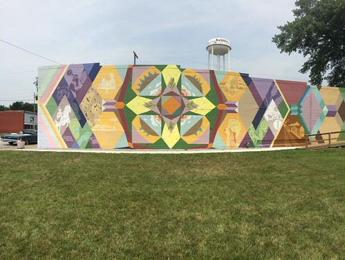 Z Crew: small town mural