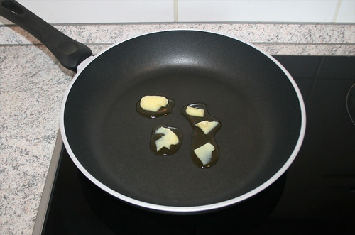 31 - Butterschmalz erhitzen / Heat up ghee