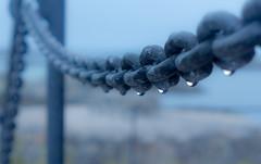 Norway, Andenes, Rainy chain