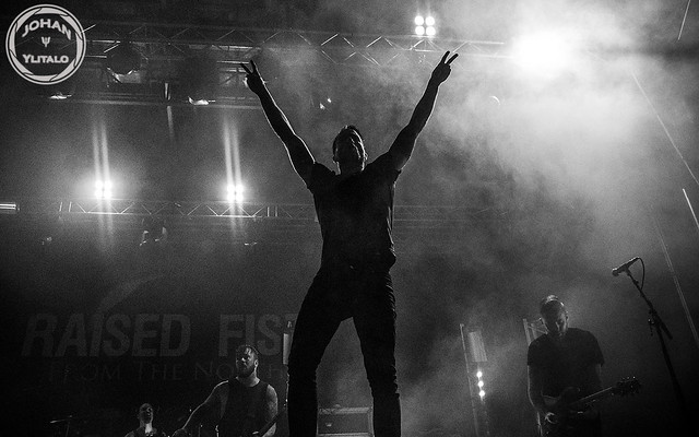Raised Fist live Luleå Hamnfestivalen 2015