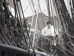Crew at rest, L'Hermione