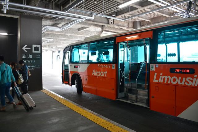 成田空港第3ターミナル:到着便のリムジンバス