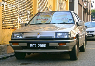 1989 Proton Saga (Magma) 1.3S 4-door saloon