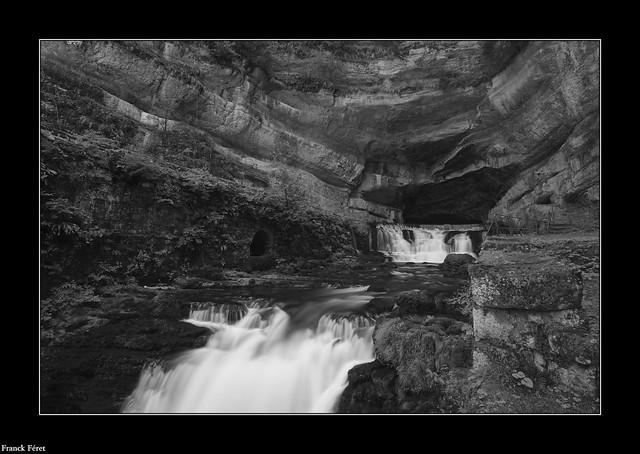 La Source de la Loue - Variation Noir et Blanc
