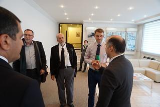 CEPEJ visit to Azerbaijan courts, July 2015