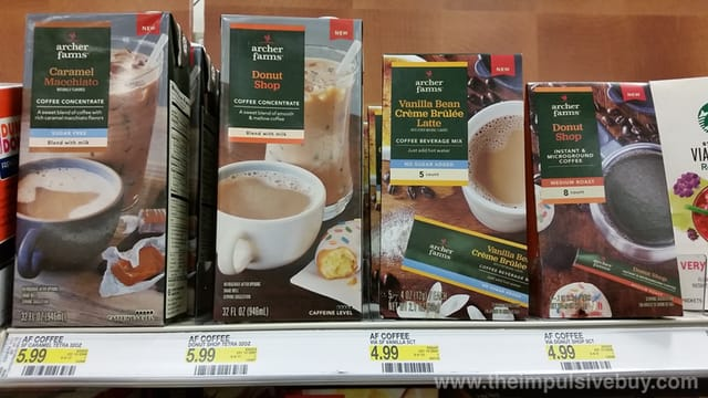 Archer Farms Coffee Concentrate, Coffee Beverage Mix