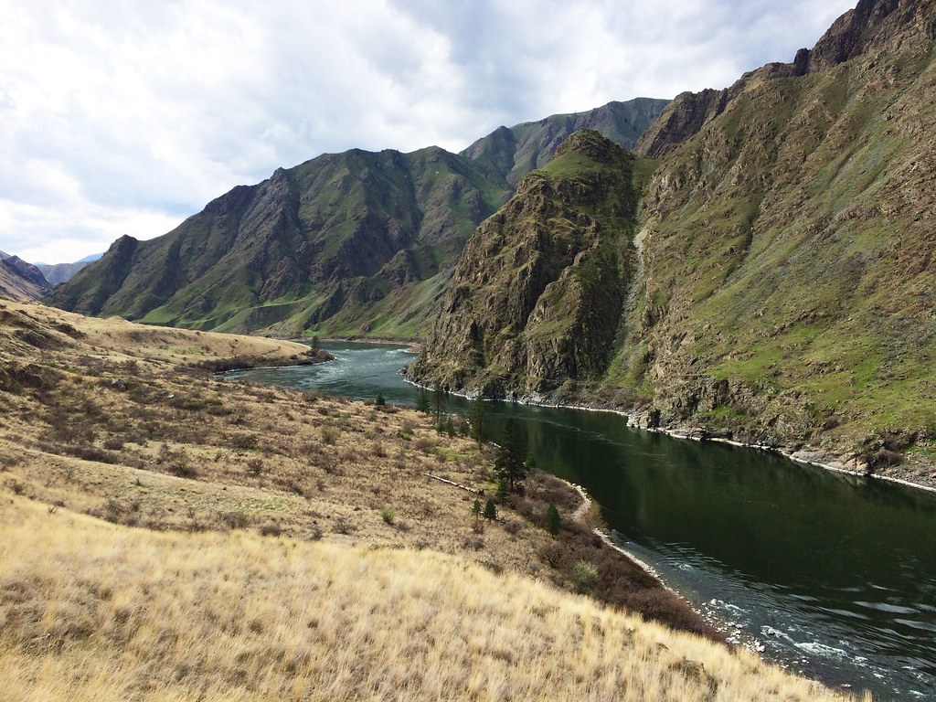 Views from the trail at the 25-mile Hells Canyon Adventure Run
