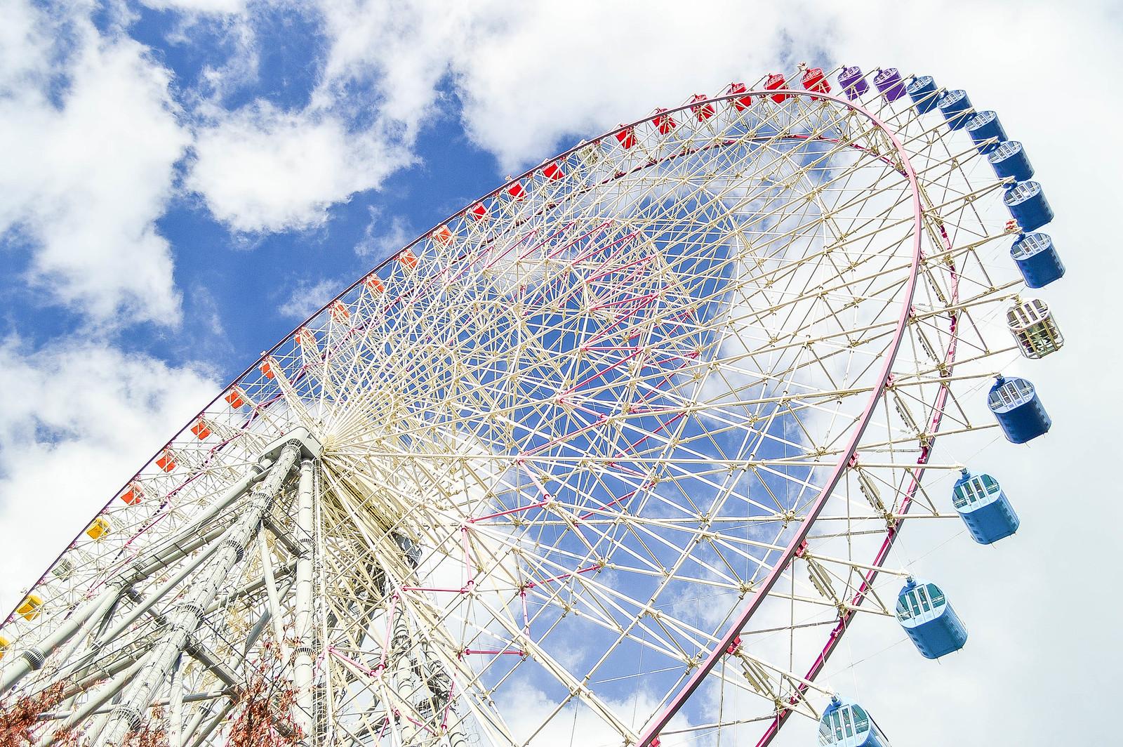 Osaka Tempozan Ferris Wheel