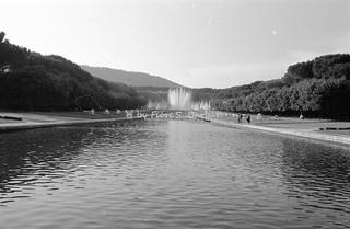 Napoli (NA), 1968, Mostra d'Oltremare: Fontana dell'Esedra.