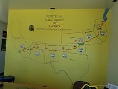 Route 66 Main Street of America Mural