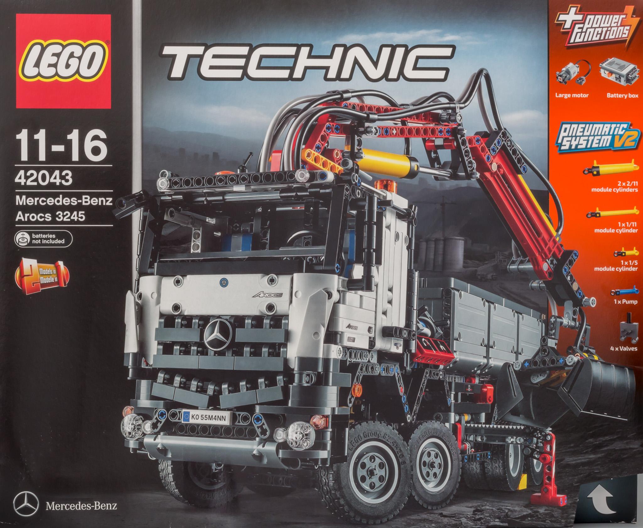 lego 42043 b model instructions
