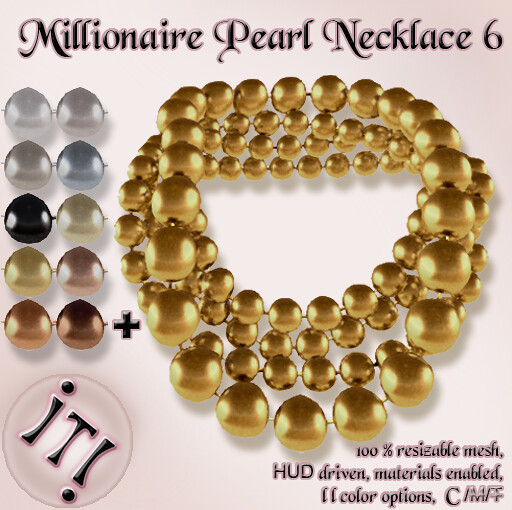 !IT! - Millionaire Pearls Necklace 6 Image