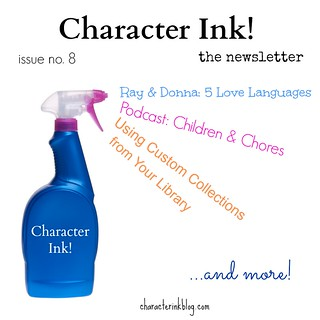 Character Ink Newsletter no. 8