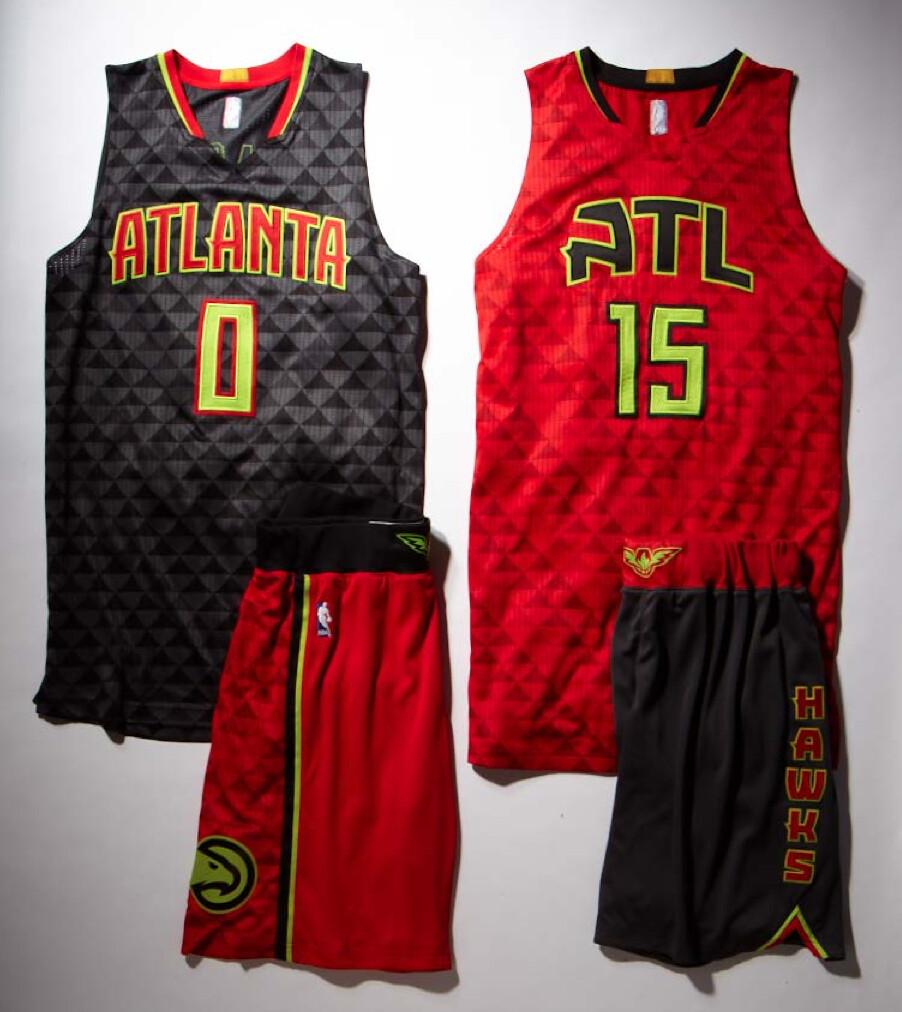 b7581abe4 Uni Watch - Grading the Atlanta Hawks  new uniforms