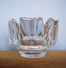 Vintage Orrefors Swedish Crystal Bowl - Corona by Lars Hellsten