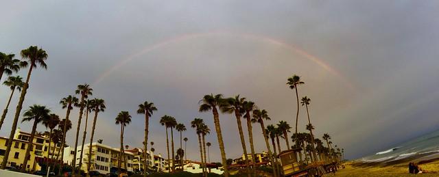 Rainbow over San Clemente