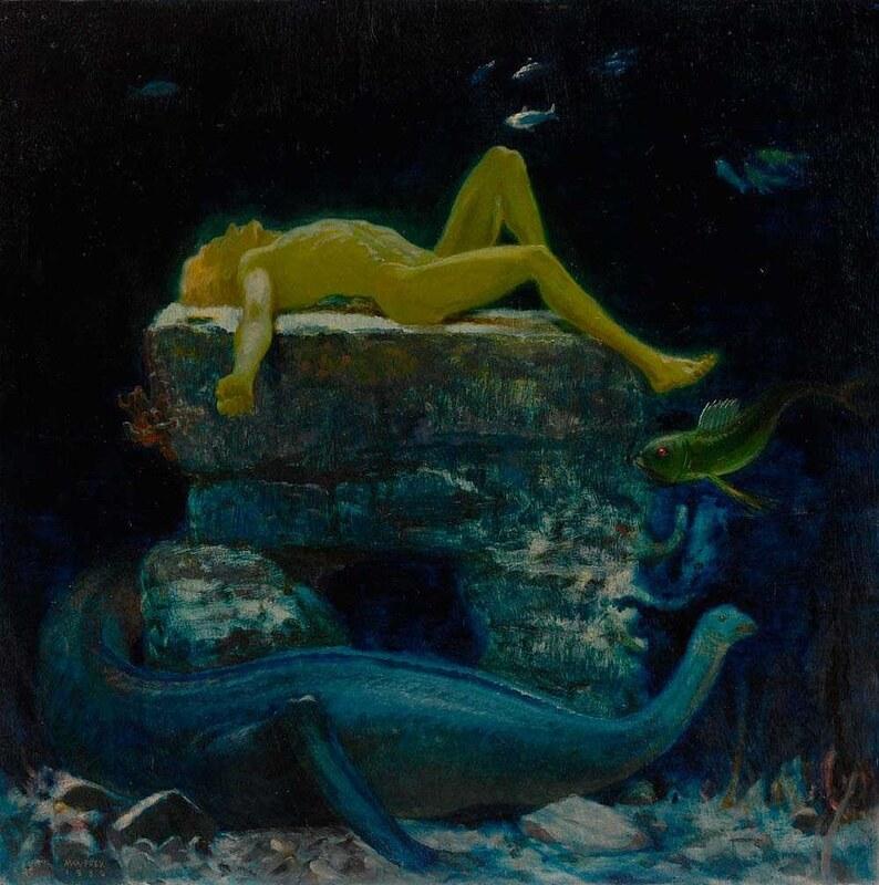 Max Frey - Traeumender, 1930