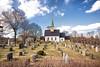 Nesodden kirke i april - The Church of Nesodden in April.jpg by dag59