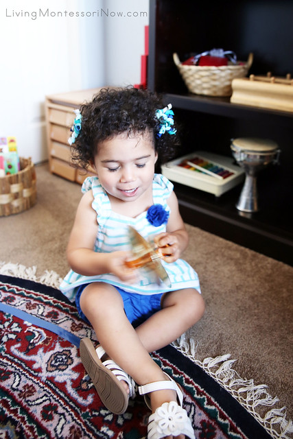 Playing Cymbals at 20 Months