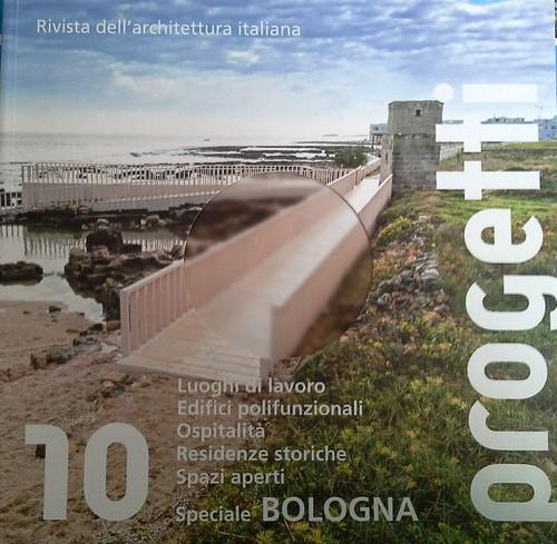 La passerella di San Vito sulla copertina della rivista