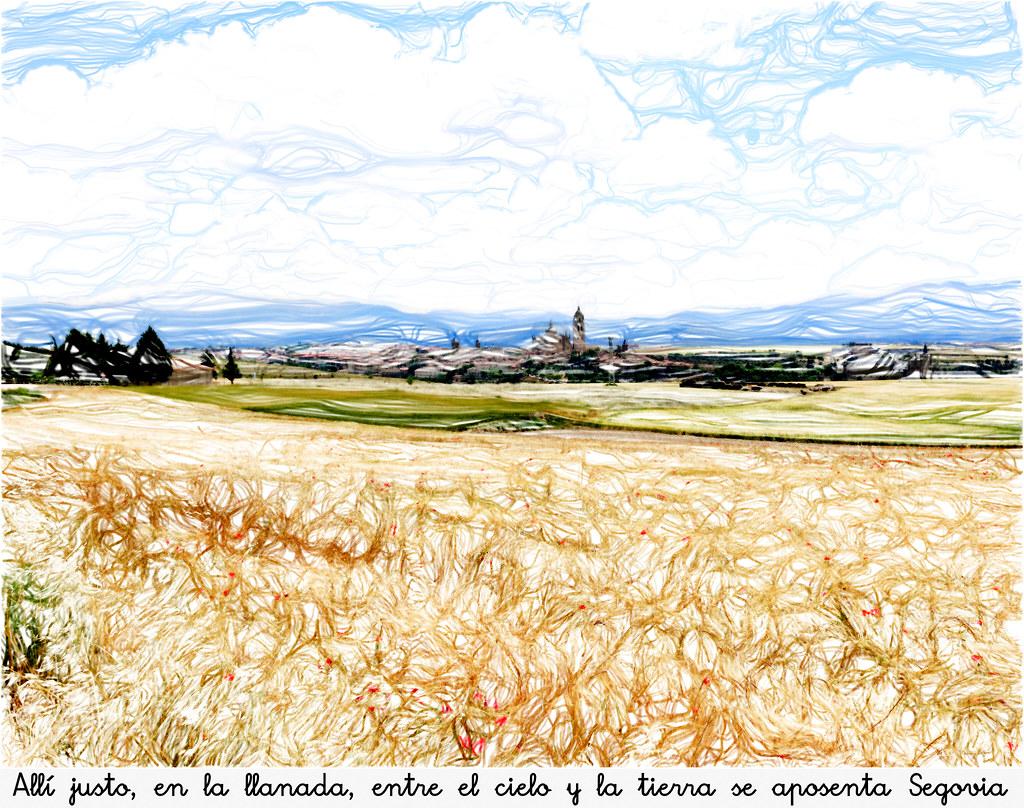 entre el cielo y la tierra, Segovia