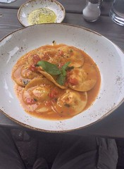 #food #madeinitaly #ravioli #cernia #granchio