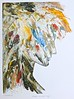 """""""Queen of The May""""  Relief monoprint. by nickr1"""