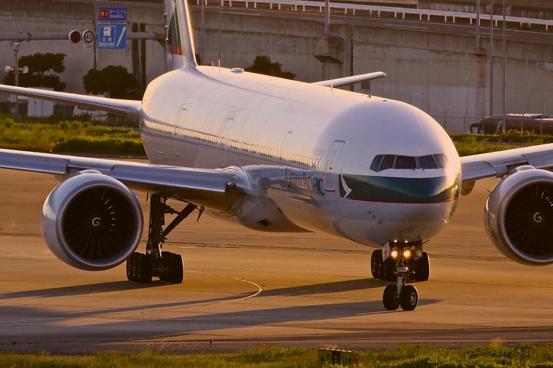 B-KQA 国泰航空 キャセイパシフィック航空 Cathay Pacific Boeing 777-300ER