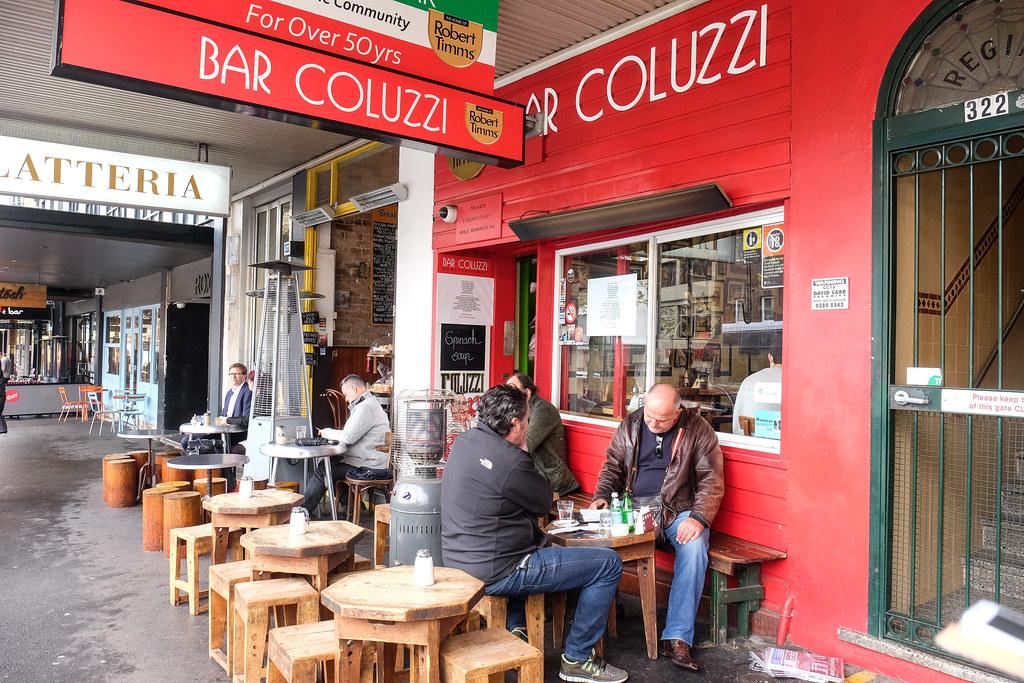 Darlinghurst Road Cafes: Bar Coluzzi Store front