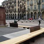 Turin, Piazza Bodoni, Italy