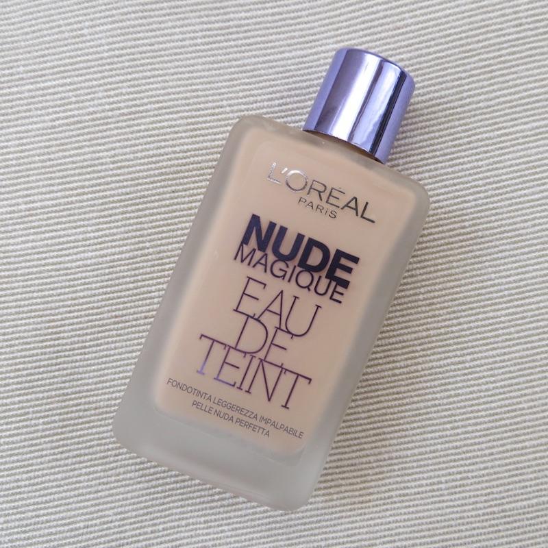 nude magique eau de teint l'oreal