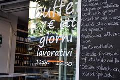Espresso at Osteria Pistoia